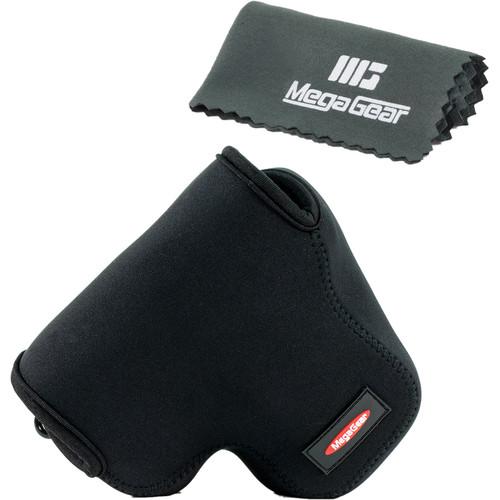 MegaGear MG452 Ultra Light Neoprene Camera Case for Canon PowerShot SX60 (Black)