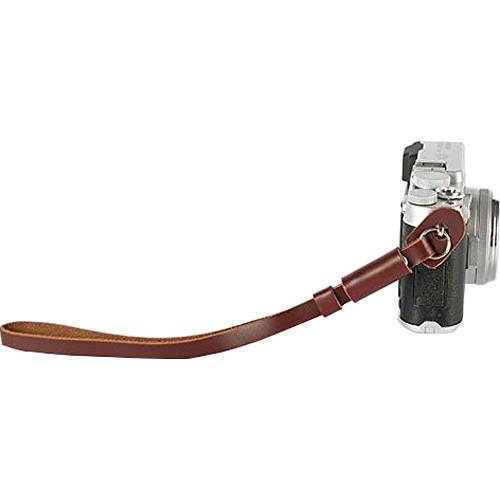 MegaGear Leather DSLR & Camcorder Hand Strap (Brown)