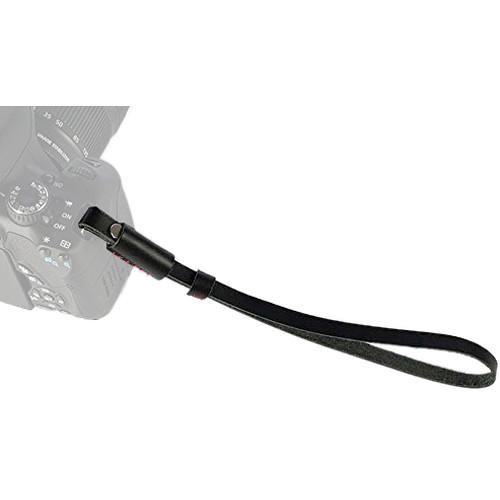 MegaGear Leather DSLR & Camcorder Hand Strap (Black)