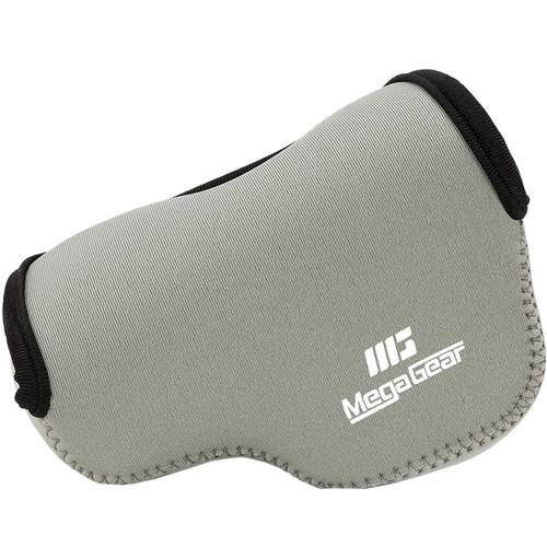 MegaGear MG517 Ultra Light Neoprene Camera Case for Fujifilm X30 (Gray)