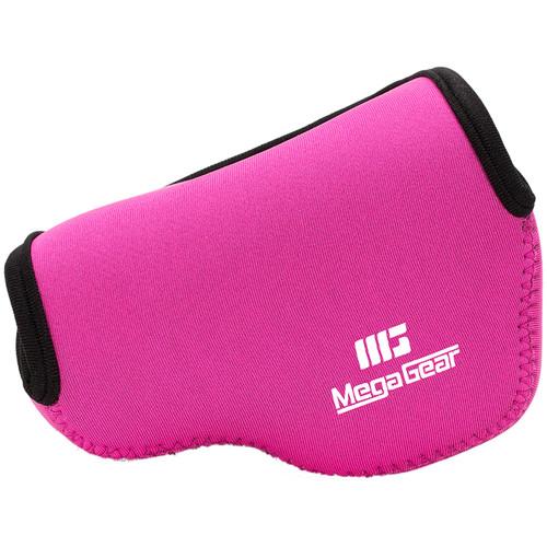 MegaGear MG518 Ultra Light Neoprene Case for Fujifilm X30 (Hot Pink)