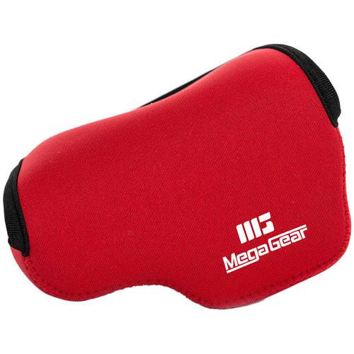 MegaGear MG519 Ultra Light Neoprene Camera Case for Fujifilm X30 (Red)
