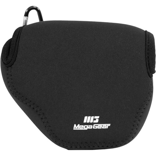 MegaGear MG037 Ultra Light Neoprene Case for Canon SX170/720/710/700 HS, Canon G16, or Sony DSC-HX60V (Black)