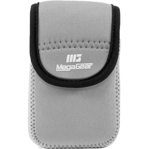 MegaGear MG039 Ultra Light Neoprene Case for Canon SX170/720/710/700 HS, Canon G16, or Sony DSC-HX60V (Gray)