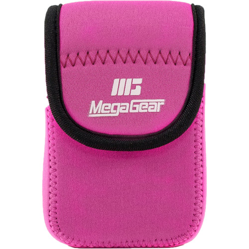 MegaGear MG040 Ultra Light Neoprene Case for Canon SX170/720/710/700 HS, Canon G16, or Sony DSC-HX60V (Hot Pink)