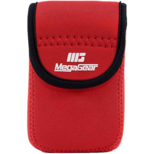 MegaGear Ultralight Neoprene Case for Canon SX170/720/710/700 HS,Canon G16, or Sony DSC-HX60V (Red)
