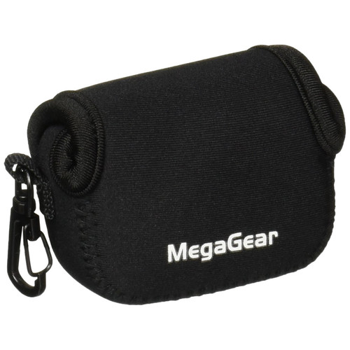 MegaGear Ultra Light Neoprene Camera Bag for GoPro, GoPro HD & GoPro Hero3+ Camera (Black)