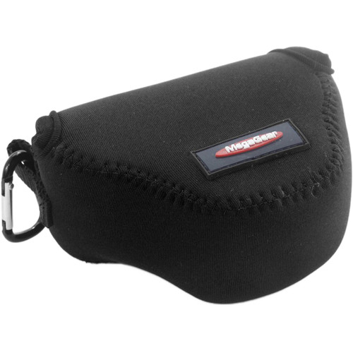 MegaGear MG058 Ultra Light Neoprene Case with Carabiner for Panasonic GM1 with 12-32mm (Black)