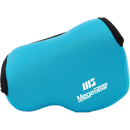 MegaGear Ultra-Light Neoprene Case for Sony Alpha NEX-F3, NEX-7, or NEX-6 with 16-50mm (Blue)