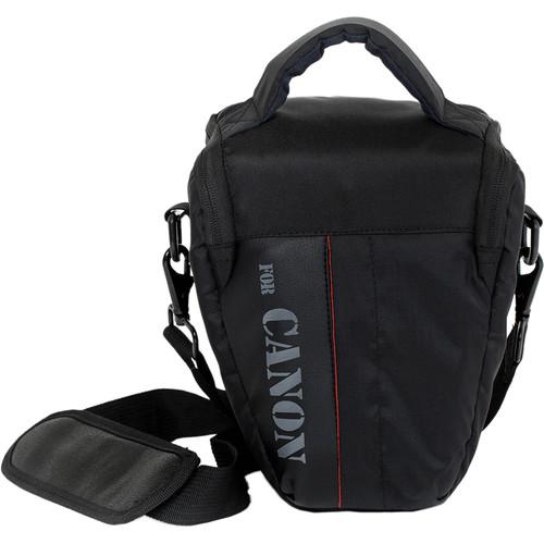 MegaGear Ultra Light Professional Camera Case Bag for Compact Canon DSLR (Black)