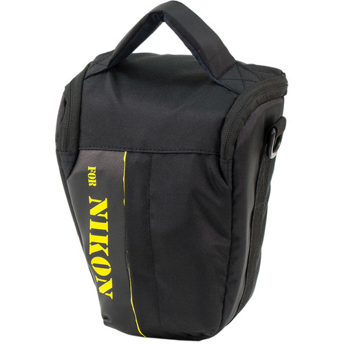 MegaGear Ultra Light Professional Camera Case Bag for Compact Nikon DSLR (Black)