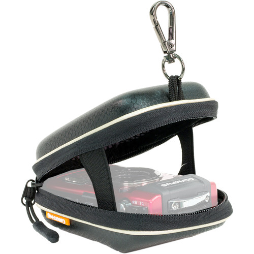MegaGear Hard Golf Camera Case with Carabiner for Lumix DMC-LX10K & LF1 (Black)