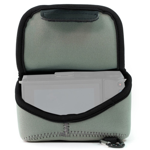 MegaGear Ultralight Neoprene Case for Canon EOS M5 with 15-45mm (Gray)