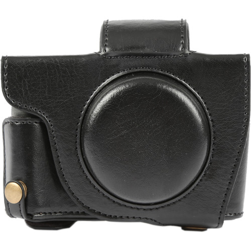 MegaGear Ever Ready Camera Case with Bottom Opening for Canon G5 X (Black)