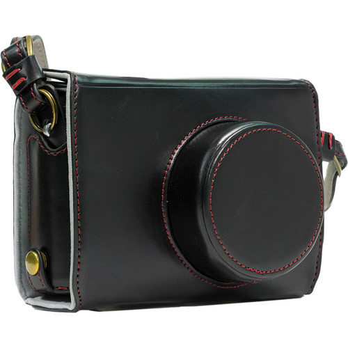 MegaGear Ever Ready Leather Camera Case for Fujifilm X100S (Black)