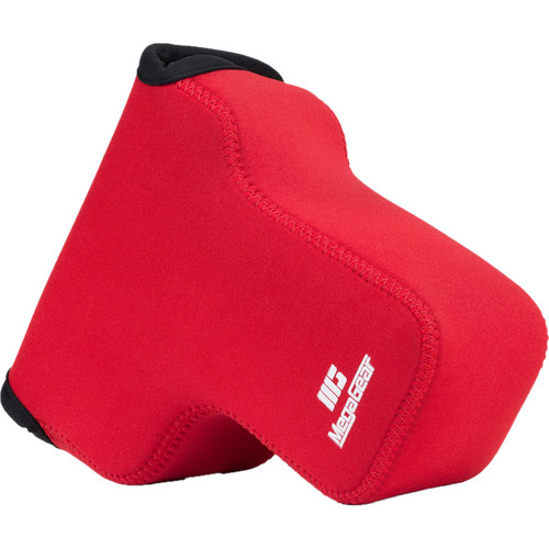 MegaGear Ultra-Light Neoprene Camera Case for Nikon COOLPIX P900 or P900S (Red)