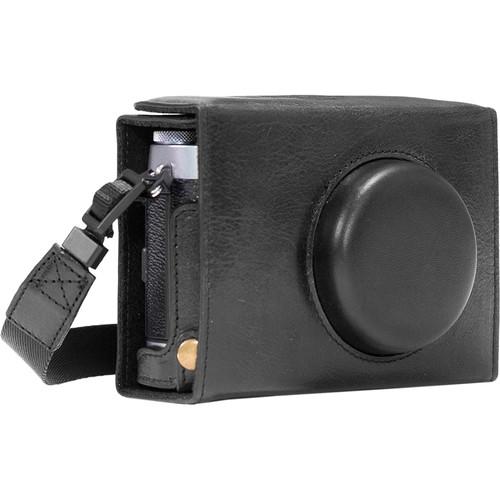 MegaGear Ever Ready Leather Camera Case for Fujifilm X100F (Black)