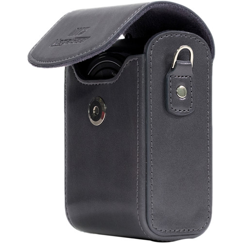 MegaGear MG1211 Ever Ready Leather Camera Case/Bag Protective Cover (Gray)