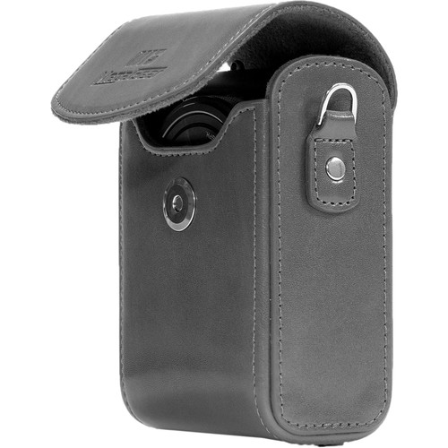 MegaGear Leather Camera Case for Canon PowerShot G7 X Mark II or Canon PowerShot G7 X (Gray)