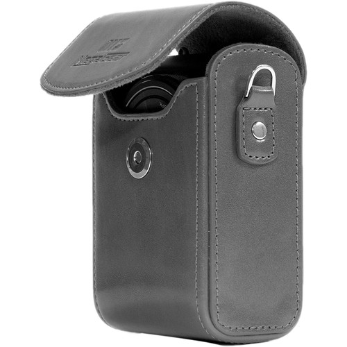 MegaGear Protective Leather Camera Case for Nikon COOLPIX A900 (Gray)