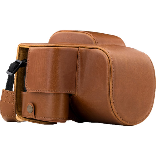 MegaGear Ever Ready Case for Lumix DS-FZ80/FZ82 (Light Brown)