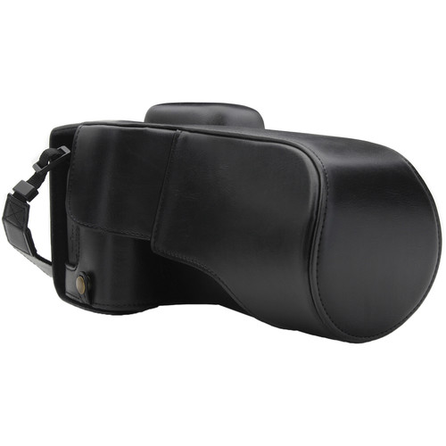 MegaGear Ever Ready Camera Case for Canon EOS 77D, 9000D with 18-135 (Black)