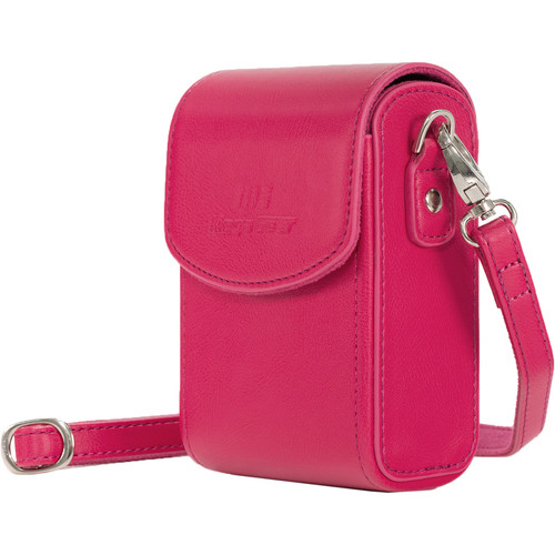 MegaGear MG1253 Ever Ready Leather Camera Case/Bag Protective Cover (Pink)