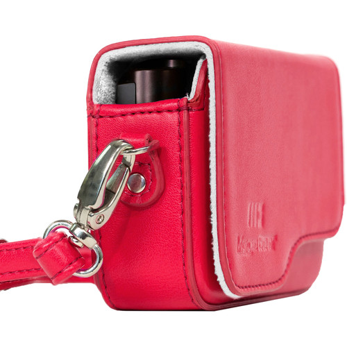 MegaGear Ever Ready PU Leather Camera Case for Leica C Typ 112 (Red)