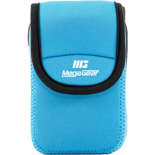 MegaGear Ultra-Light Neoprene Camera Case for Nikon Coolpix W300, AW130, Ricoh WG30W, WG50 (Teal)