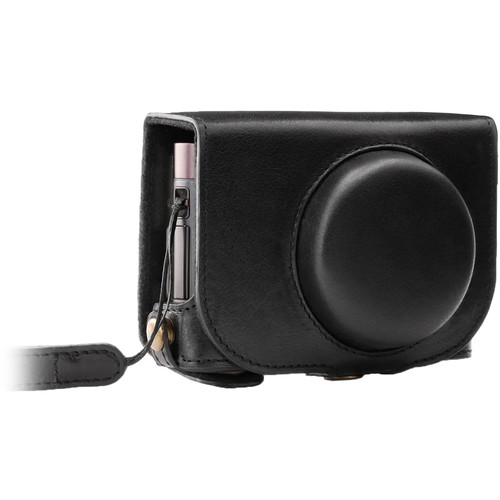 MegaGear Ever Ready Leather Camera Case for Leica C Typ 112 (Black)