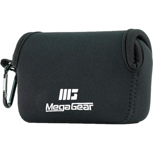 MegaGear Ultra-Light Neoprene Camera Case with Carabiner for Leica C Typ 112 (Black)