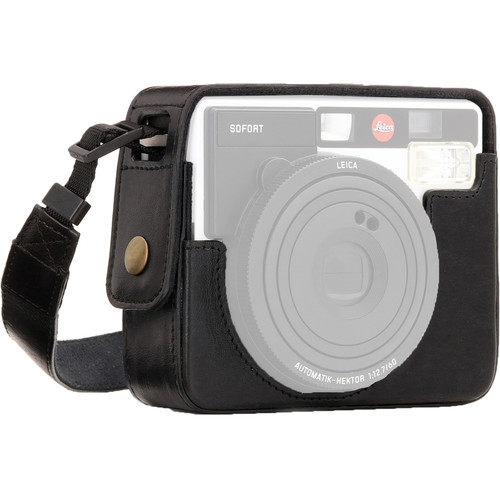MegaGear Ever Ready PU Leather Camera Case for Leica Sofort Instant (Black)