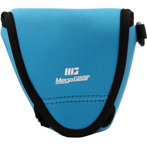 MegaGear Ultra-Light Neoprene Camera Case with Carabiner for Fujifilm X-E3 (Blue)