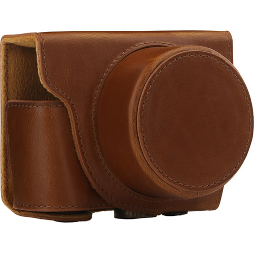 MegaGear Ever Ready Protective Case for Nikon 1 J5 with 10-30mm (Light Brown)