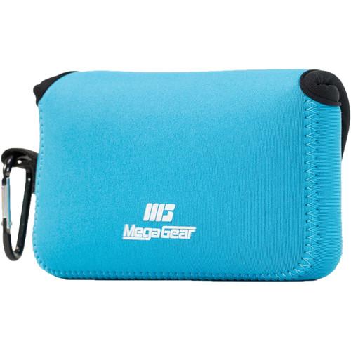 MegaGear Ultralight Neoprene Camera Case for Canon PowerShot G1X Mark III (Blue)