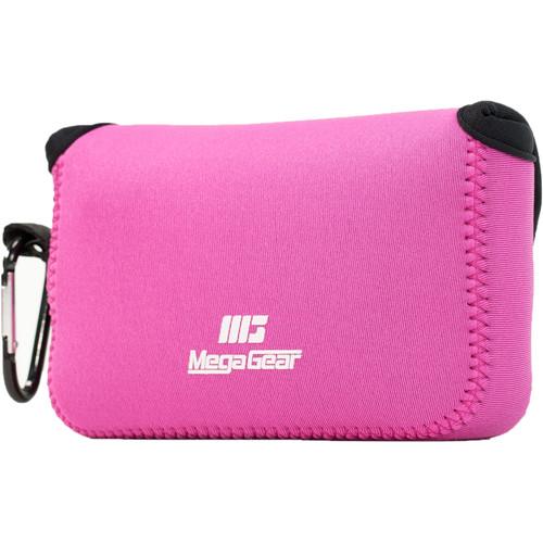 MegaGear Ultra-Light Neoprene Camera Case for Canon PowerShot G1X Mark III (Hot Pink)