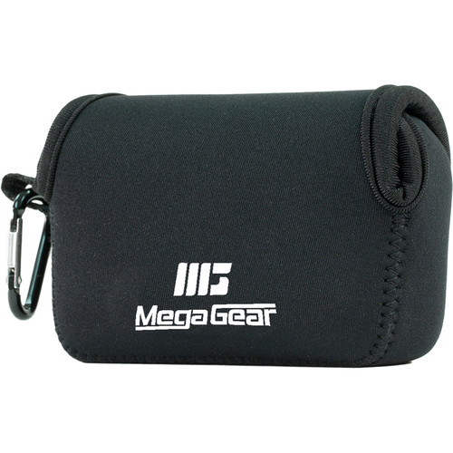 MegaGear Ultra-Light Neoprene Camera Case for Panasonic Lumix ZS200, TZ200, Leica C-Lux (Black)