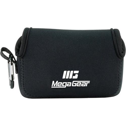 MegaGear Ultra-Light Neoprene Camera Case for Panasonic Lumix DC-TS7 (Black)