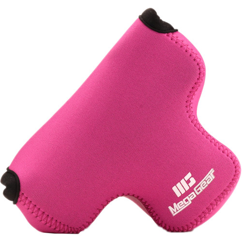 MegaGear Ultra-Light Neoprene Case for Fujifilm X-T100 with 15-45mm (Hot Pink)