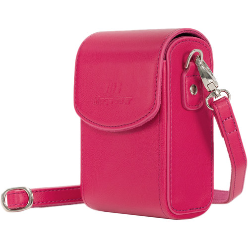 MegaGear PU Leather Camera Case for Canon PowerShot SX740 HS, SX730 HS (Hot Pink)