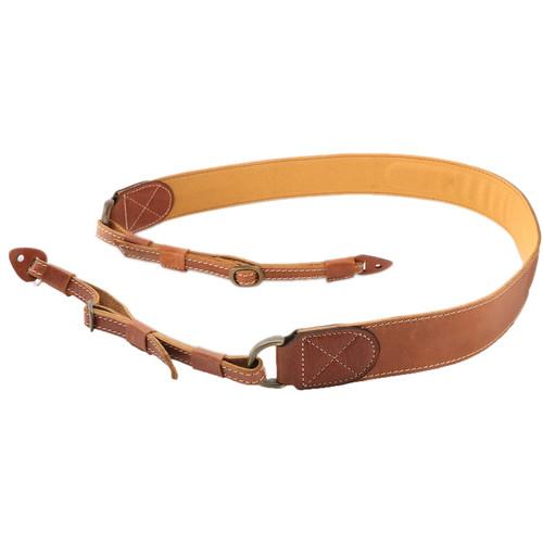 MegaGear DSLR Leather Shoulder Neck Strap (Brown)