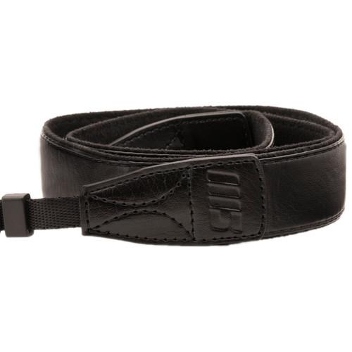 MegaGear DSLR Leather Shoulder Strap (Black)