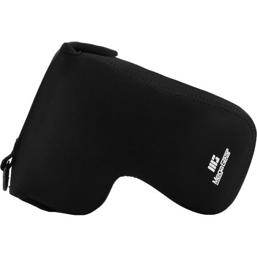 MegaGear Ultralight Neoprene Camera Case for Nikon Coolpix P1000 (Black)
