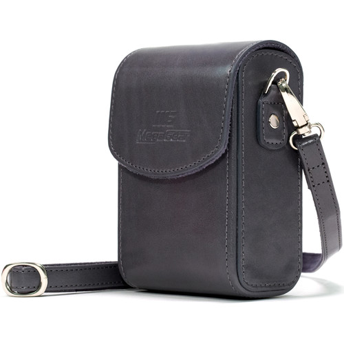 MegaGear PU Leather Case with Strap for Sony Cyber-shot DSC-RX100 VI, DSC-RX100 V, DSC-RX100 IV (Gray)