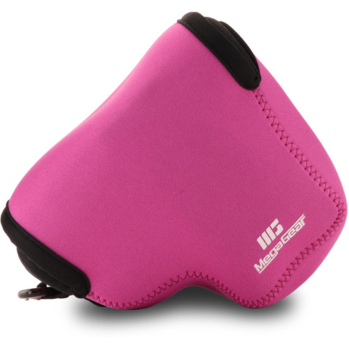MegaGear Ultra-Light Neoprene Camera Case for Canon PowerShot SX70 HS (Hot Pink)