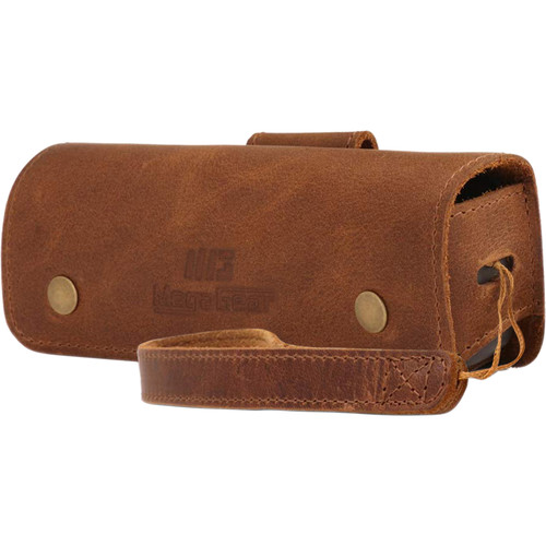 MegaGear MG1616 Genuine Leather Camera Case for DJI Osmo Pocket (Brown)