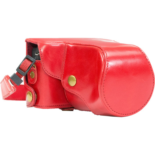 MegaGear Ever Ready Camera Case for Canon EOS M or M2 (Red)