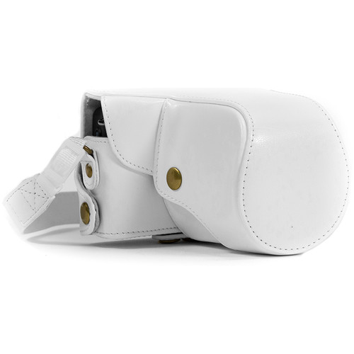 MegaGear Ever Ready Camera Case for Canon EOS M or M2 (White)