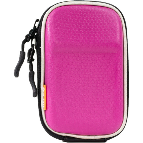 MegaGear MG196 Camera Hard Case for Select Sony/Canon/Nikon/Panasonic Cameras (Hot Pink)