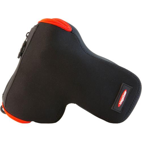 MegaGear Ultra-Light Neoprene Camera Case for Pentax K-50, K-3, K-5, K-30, K-S1, K-S-2, K-500, with Lens (Black)